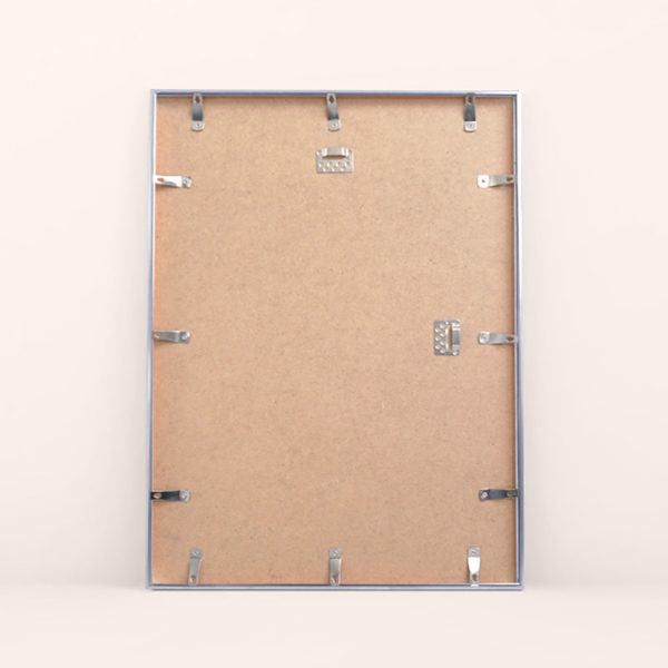 Metal silver frame by Mapiful