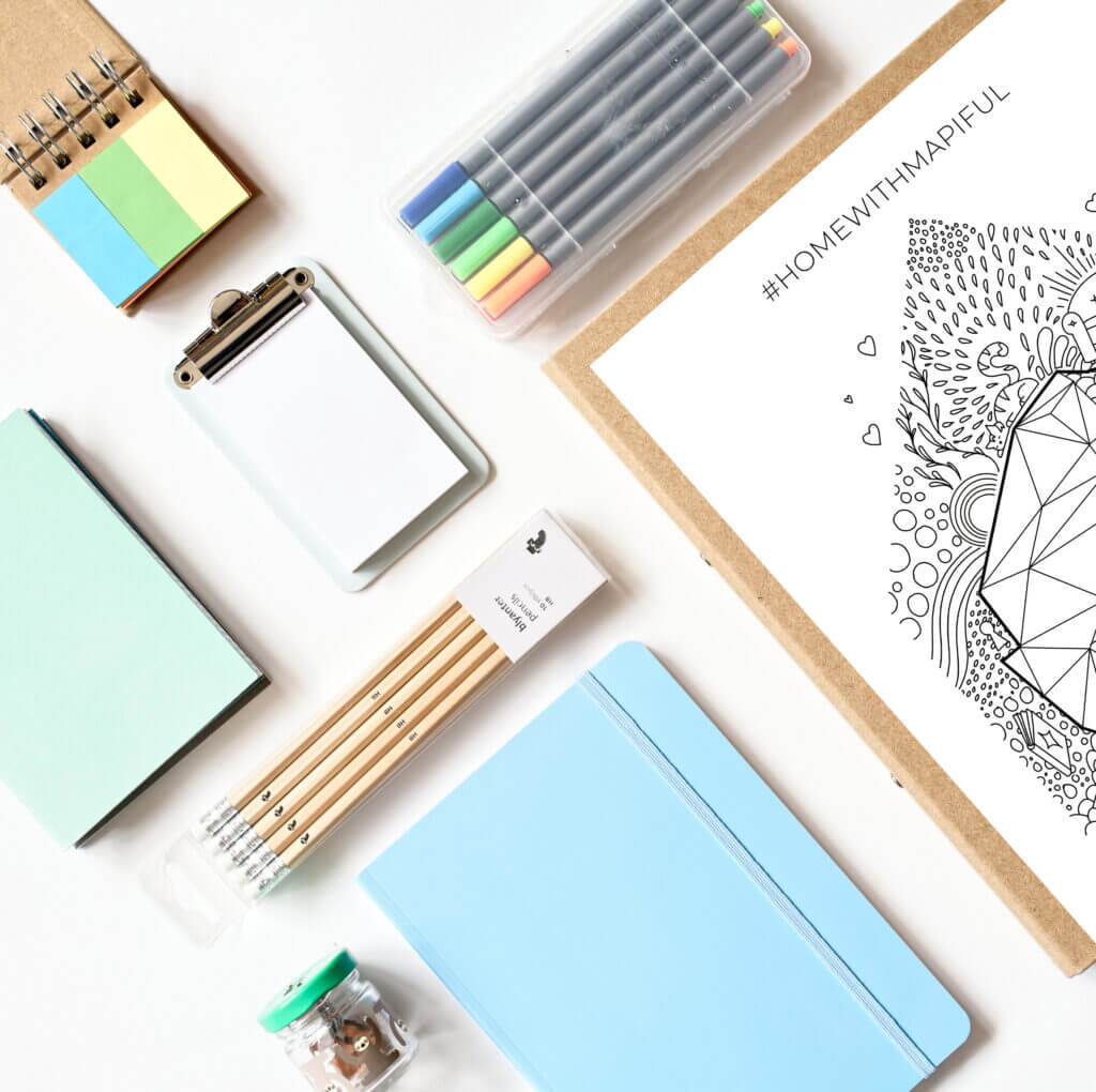 Free Mapiful Coloring Pages