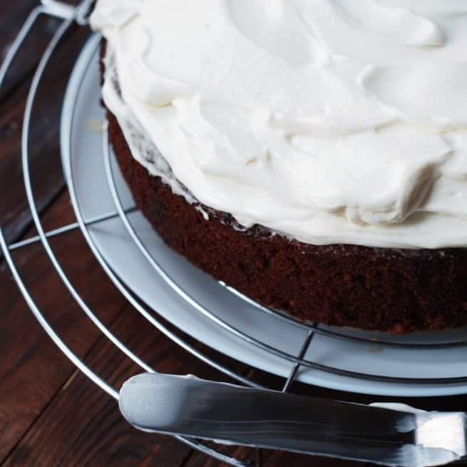 Mother's Day Carrot Cake Easy Icing Recipe