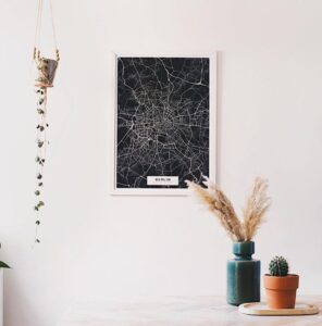 Map poster of Berlin, Germany