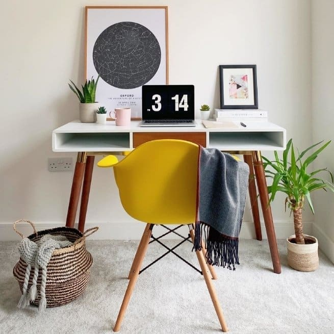 Work-From-Home Office sustainable furniture mapiful starmap
