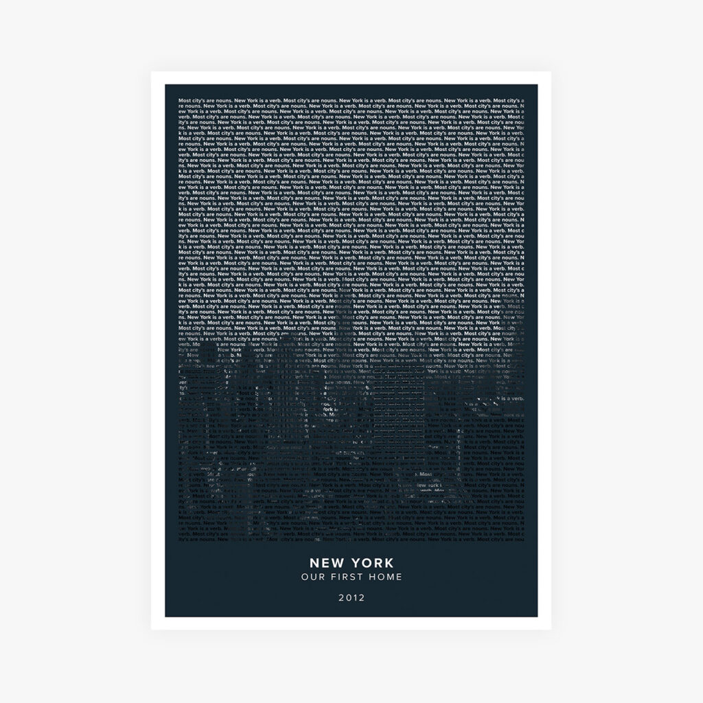 Customizable Text Art Posters For Travel Lovers