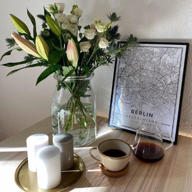 Mother's Day Décor Mapiful Classic coffee flowers