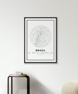 white country star map Brazil